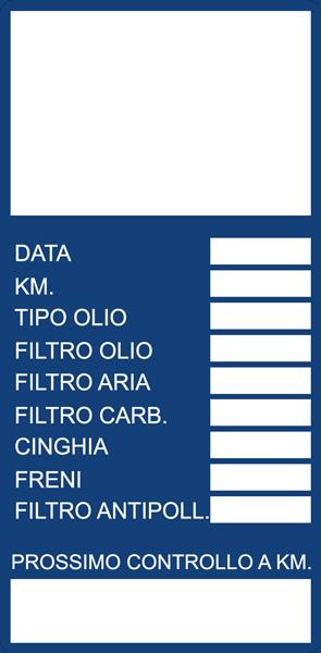 Adesivo 510 Blu