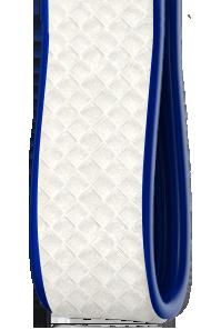 Bicolore | Carbonio Bianco - Laterali Blu