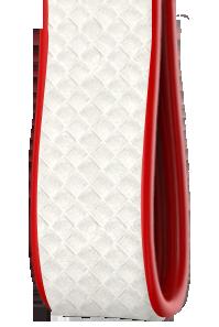 Bicolore | Carbonio Bianco - Laterali Rosso