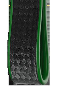 Bicolore | Carbonio Nero - Laterali Verde