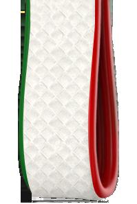 Tricolore | Carbonio Bianco - Laterali Verde Rosso