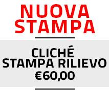 Nuova Stampa Cliché Rilievo