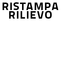 Ristampa Cliché Rilievo
